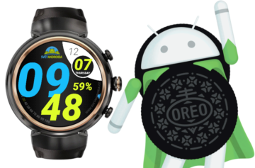 hodinky s android wear android 8 oreo