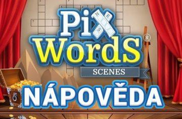 PixWords Scenes nápověda podle písmen i obrázků pro všechny úrovně