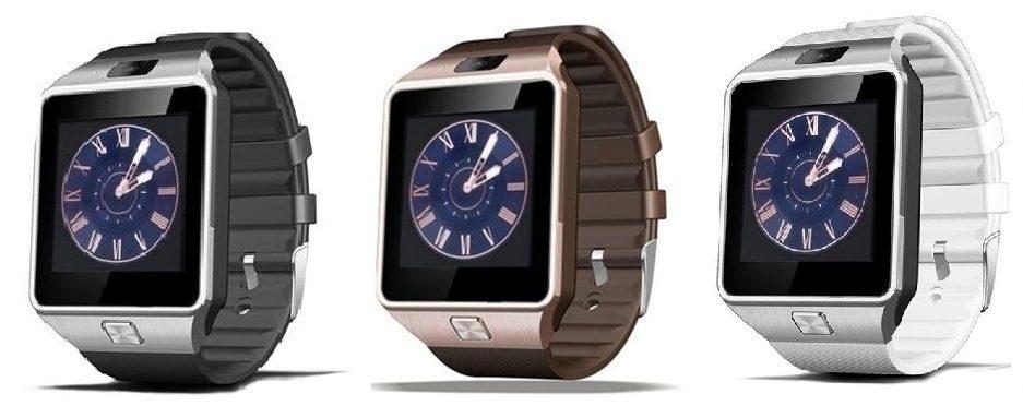 Čínské chytré hodinky DZ09