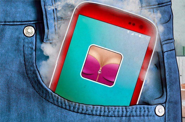 težení kryptoměn android malware
