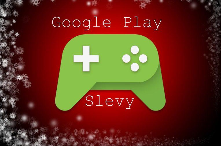 vanocni slevy google play