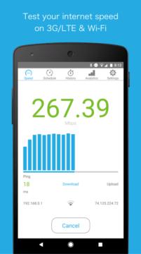 Aplikace Speedcheck Pro-stabilni internet-2
