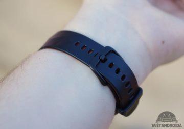 Samsung Gear Fit 2 Pro zapínání