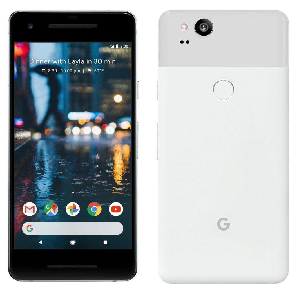 Na špičce je aktuálně Google Pixel 2