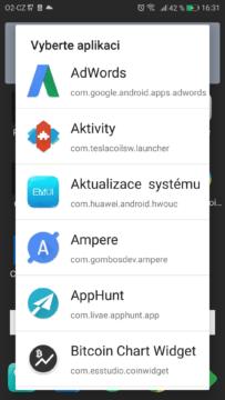 Quick Settings-prepinace v notifikacni liste