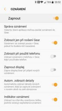 Samsung Gear Fit 2 Pro aplikace 5