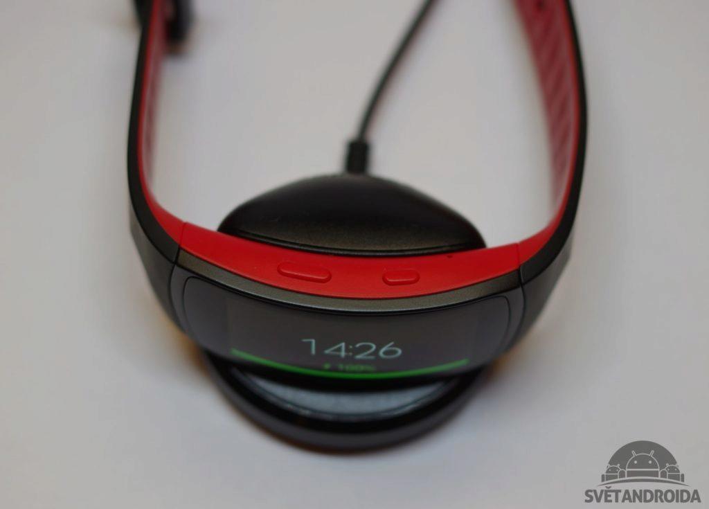 Samsung Gear Fit 2 Pro konstrukce