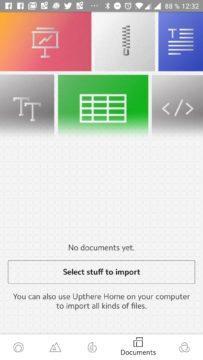 Sekce pro dokumenty