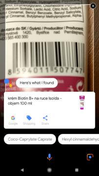 Služba Google Lens Asistent Google