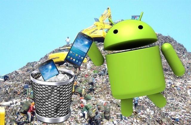 Staré telefony nepatří do koše