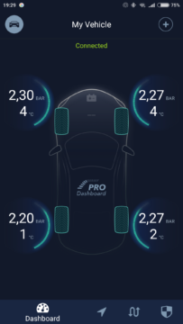 ZUS Smart Tire Safety Monitor app 1