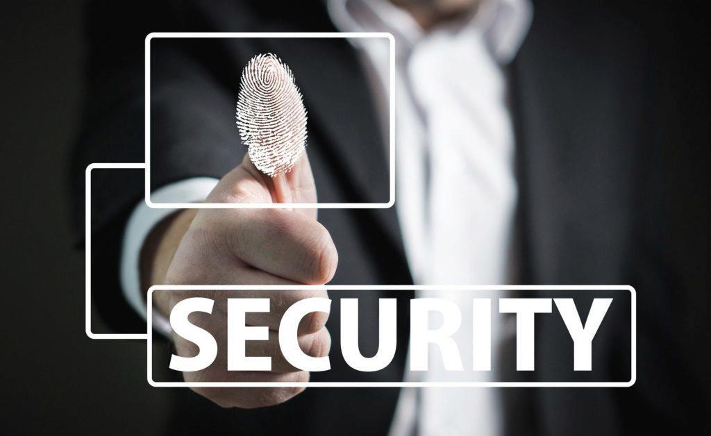 Zabezpečení otiskem prstu je považováno za bezpečné