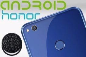 aktualizace Android 8 oreo honor 8
