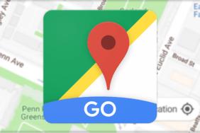 google maps go aplikace