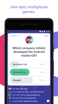 hq trivia android