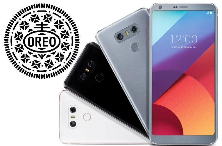 model G6 android oreo