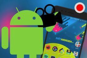 nataceni obrazovky android