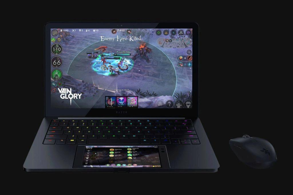 telefon razer notebook
