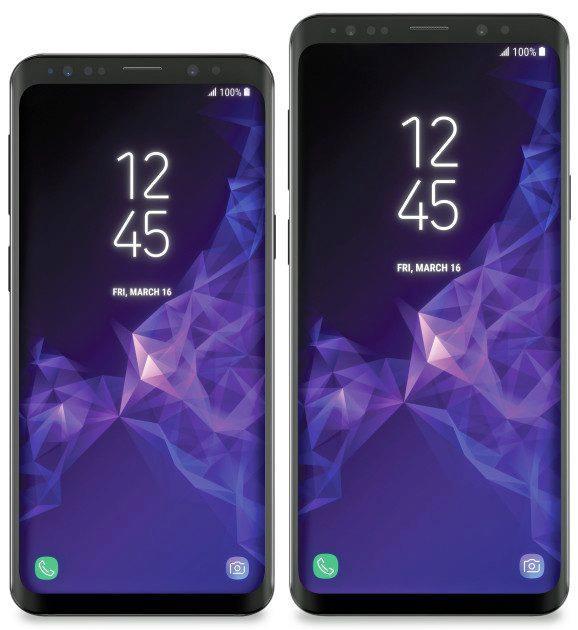 telefony galaxy s9 s9+