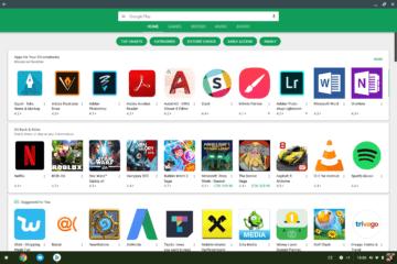Chrome OS Google Pixelbook