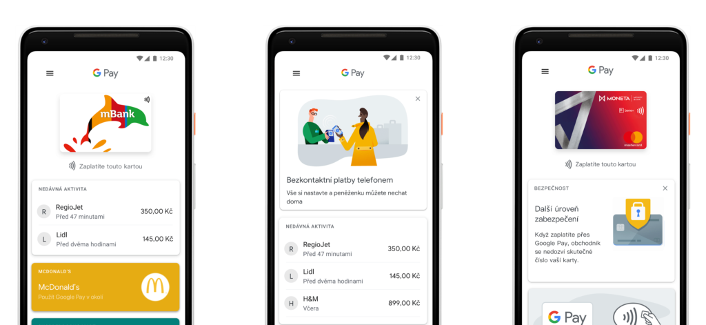 Google Pay platby
