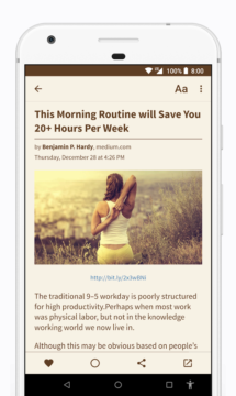 Readably - RSS Reader 2