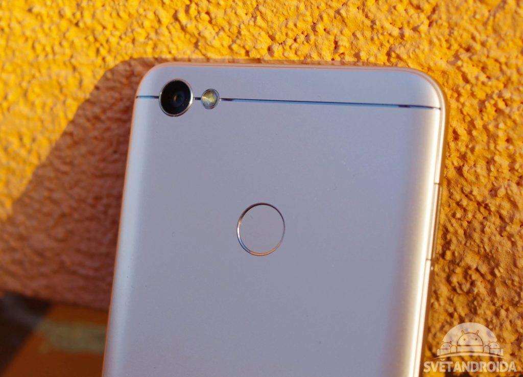 Xiaomi Redmi Note 5A Prime čtečka otisků