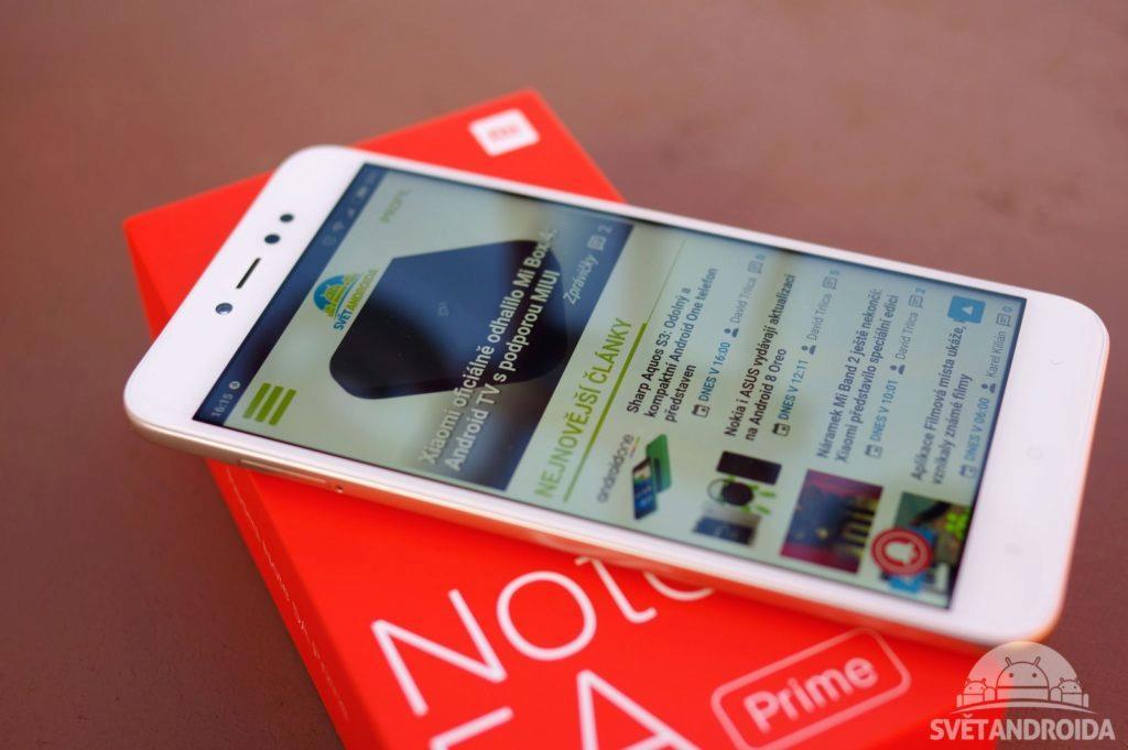 Xiaomi Redmi Note 5A Prime přední strana 3