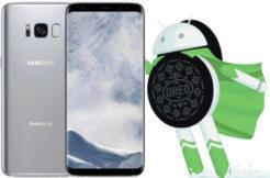 aktualizace na android oreo samsung galaxy s8