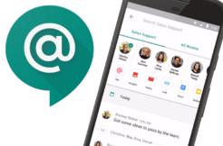 hangouts chat google aplikace
