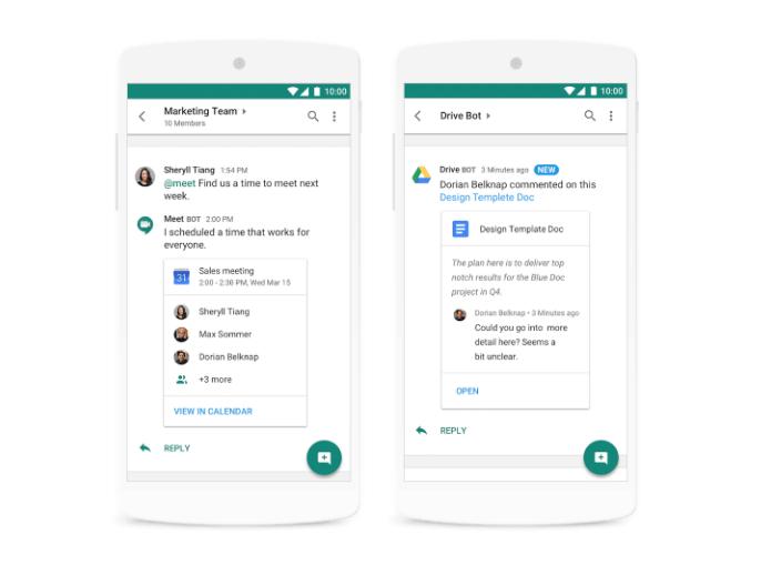 hangouts chat google