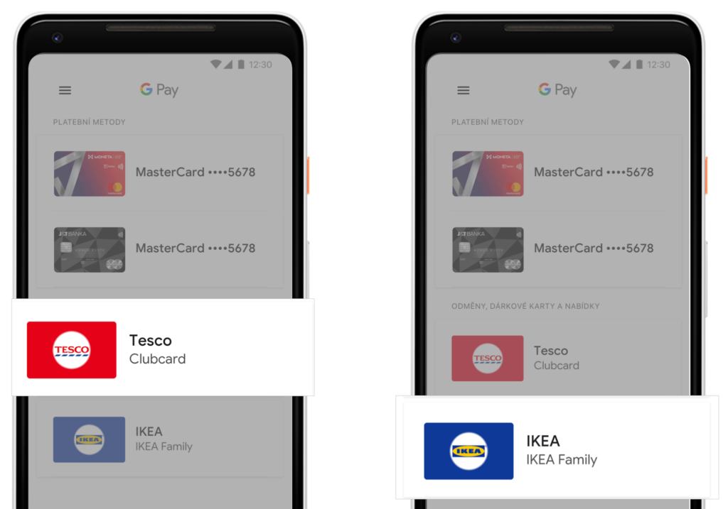 karty google pay