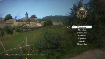 kingdom come deliverance menu