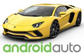lamborghini android auto
