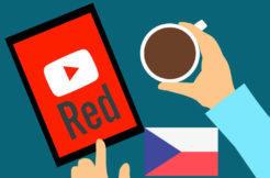 youtube red cesko