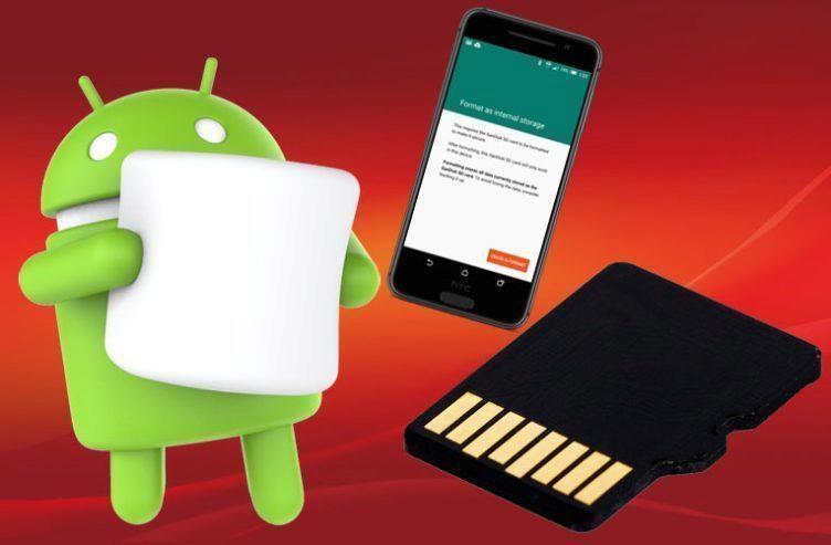 Android Marshmallow přinesl možnost připojit kartu k interní paměti