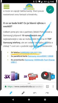 Aplikace Markup screenshoty Android P (2)