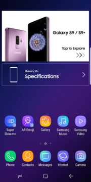 Experience app for Galaxy S9S9 1