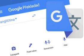 Překladač Google novy design