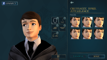 Harry Potter Android hra RPG (2)
