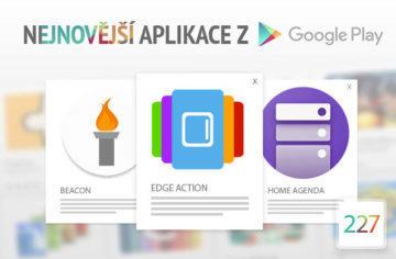 Nejnovější aplikace z Google Play #227: praktický postranní panel