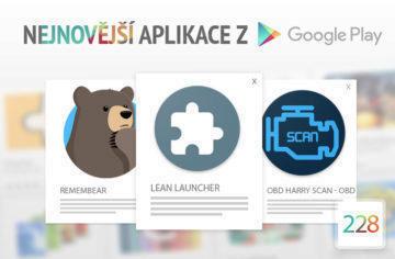 Nejnovější aplikace z Google Play #228: svižný launcher