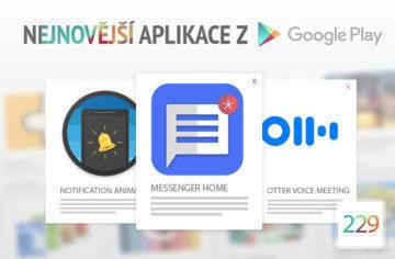 Nejnovější aplikace z Google Play #229: Launcher s podporou SMS