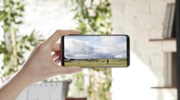 Samsung Galaxy S9 displej