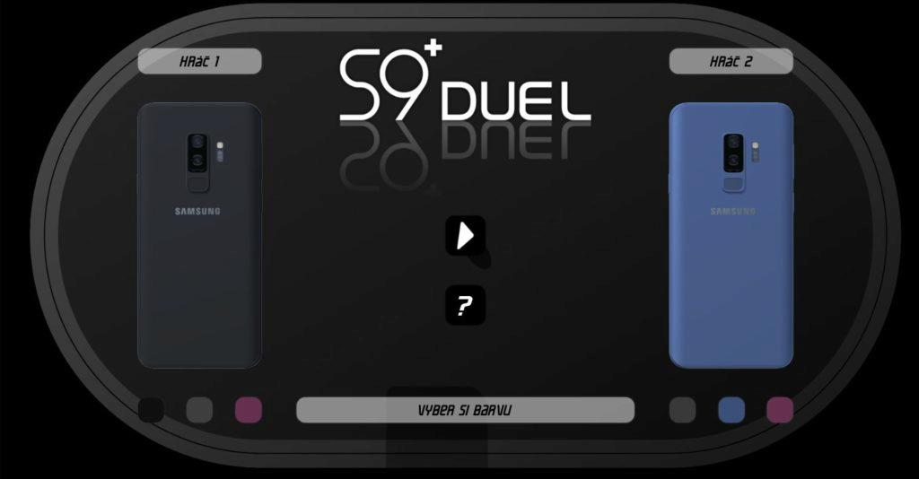 Svet Androida soutěž Galaxy S9 duel