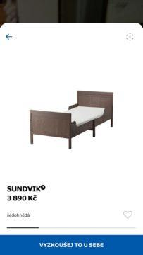 Umístění postele do prostoru