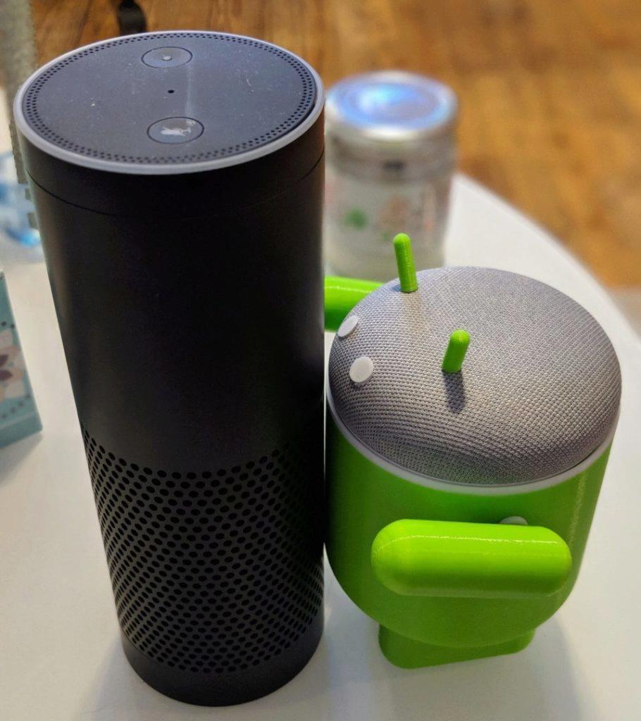 bugdroid google home mini