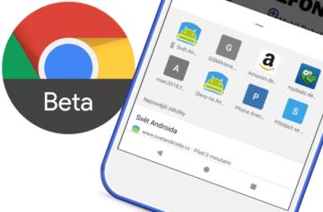 Chrome 66 přináší na telefony experimentální uživatelské rozhraní