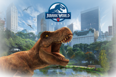 dinosauri AR hra pokemon go