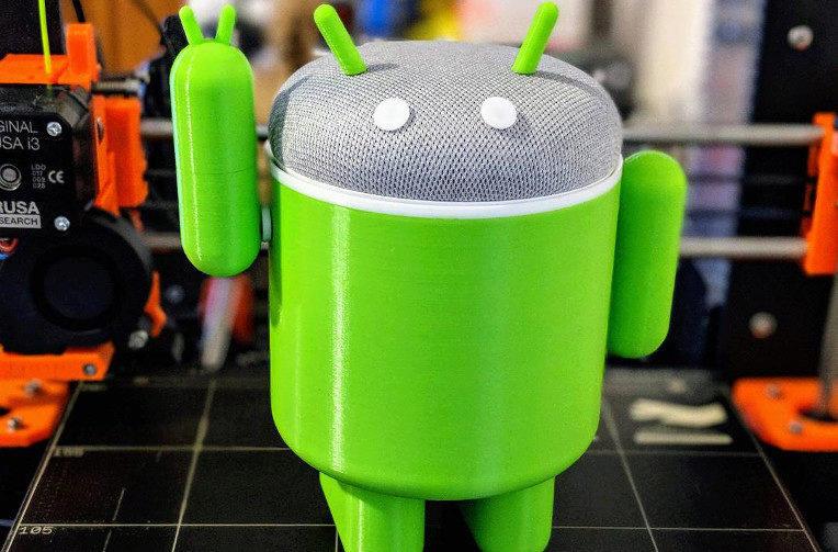 google home mini bugdroida